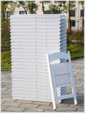 Resina de alta calidad fábrica de sillas plegables