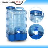 Mz Fles van het Water van de Tapkraan van PC van 4 Gallon de Plastic (4Gallon)