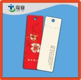 Изготовленный на заказ красные бирки Hang одежды