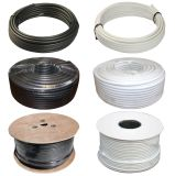 Коаксиальный кабель стандарта RG6 высокого качества малопотертый