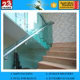 バルコニーのガラス手すり、ガラス塀、階段ガラス柵の製造者のための4mm-19mm中国の緩和されたガラス