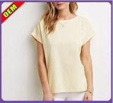 여자 (W254)를 위한 형식 섹시한 면에 의하여 인쇄되는 t-셔츠