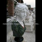 Busto di pietra per la decorazione domestica Ms-2430