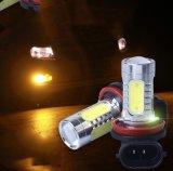 Lâmpada da névoa do diodo emissor de luz do carro da ESPIGA do poder superior
