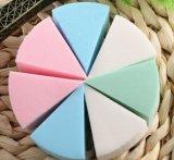 케이크 디자인 갯솜 다채로운 장식용 메이크업 분첩
