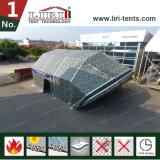 Grand abri d'avion de chapiteau d'avions de tente de hangar de structure d'ouverture de porte
