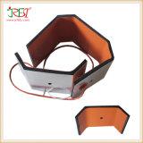 Calefator flexível da película de Polymide da borracha de silicone