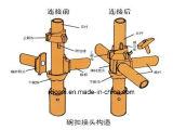 Sistema galvanizzato dell'impalcatura di Cuplock per costruzione
