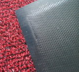 Двойная циновка катушки PVC затыловки диаманта цвета