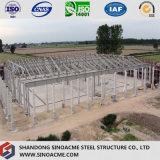 Construction de bâti en acier préfabriquée pour l'industrie lourd