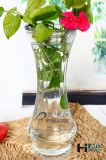 vase en verre clair à bourgeon de Homeware de la décoration 500ml
