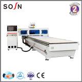 Ranurador eficaz principal del CNC de Sosn Sx1350b-2 dos para la fabricación de los muebles