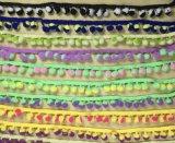 Mehr Farben-auserlesene Quast-Troddel-Franse für Dress der Dame