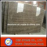 Cofre de la encimera de mármol pulido de madera y azulejos para decorar
