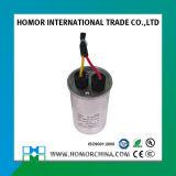 конденсатор Cbb65 AC алюминиевого случая 50+6UF двойной для кондиционера