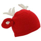 Kundenspezifischer netter Kind-Weihnachtswinterbeanie-Hut