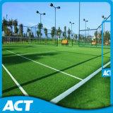 Grama artificial Sf13W6 do tênis do campo do tênis da alta qualidade