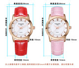 Montre-bracelet de dames de mode