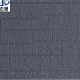 Панель стены украшения изоляции сделанная металлического PU выбитое пеной