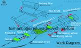 3 productos de metal del hardware de la máquina del motor de Sevo del eje fluyen empaquetadora