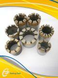 Morceau de foret imbibé par profil de faisceau de diamant de vitesse