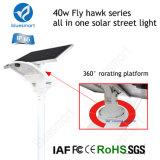 40W Solar-LED Straßenlaterne-Garten-Solarlampe mit Cer-Bescheinigung