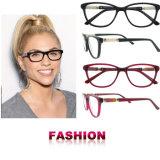 Il nuovo acetato di arrivo incornicia i vetri ottici dei blocchi per grafici degli occhiali con Ce e FDA
