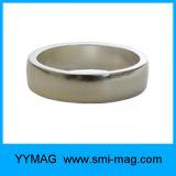 Ímã industrial permanente de anel de neodímio de superfície rara permanente