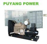 Type silencieux diesel de la puissance 650kVA 520kw de générateur de Cummins