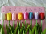 Mejor venta de flores artificiales de tulipán