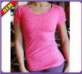 Fashion Sexy T-shirt impresso para as mulheres (W188)
