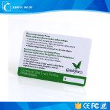 La impresión personalizada PVC RFID tarjetas inteligentes para el pago