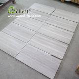 Плитка мрамора стены пола Китая белая деревянная для гостиницы/виллы/коммерчески здания