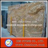 Marrón Emperador losa de granito pulido de cut-a-tamaño