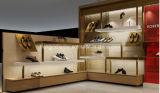 Kiosque femelle de système de chaussures, étalage de détail