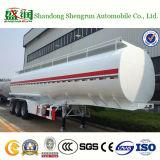 De Aanhangwagen van de Tank van de Brandstof van China van de lage Prijs met Fabrikanten van de Vrachtwagen van de vierkant-Cirkel de Achter