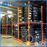 Armazém Usado Metal Stacking Mobile Truck Tire Rack para Venda