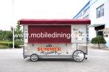 Remorque mobile populaire de nourriture avec la longue durée de vie