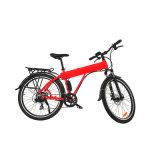 Colore rosso della bicicletta di E con la barra della maniglia della Al-Lega 6061 di Promax