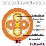 Cabo de fibra óptica de breakout interior 2,0mm Simplex no interior das fibras 2