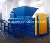 Machine en plastique horizontale de presse de papier de rebut d'Epm 80