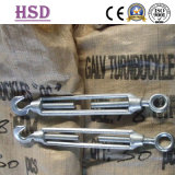 Rigging Hardware Commercial Malleable Iron Steel Turnbuckle com Gancho Olho