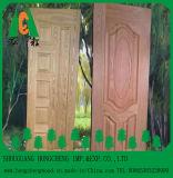 Peau de porte en placage de chêne rouge naturel