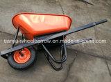 手押し車または一輪車Wb8601のための正方形のハンドル
