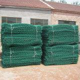 Ячеистая сеть PVC Coated Gabion для каменной клетки