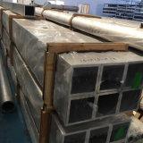 Verdrängtes quadratisches Aluminiumgefäß 6063-T5, 6061-T6