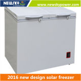 433L 212L Singel et congélateur solaire de poitrine de C.C de la double température
