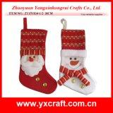 Media de la Navidad del llano de la Navidad de la decoración de la Navidad (ZY15Y110-1-2)