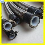 El alambre de acero inoxidable del tubo del manguito PTFE de PTFE cubrió el manguito R14