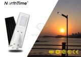 6W-120W Mono LED du panneau solaire éclairage de rue avec capteur PIR